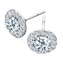 Diamond Earrings for Woman - Hollow Earrings