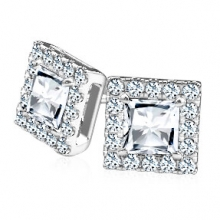 Tight diamond earrings
