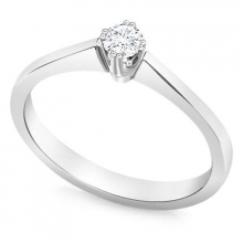 A delicate engagement ring