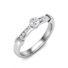 A special and unique diamond ring