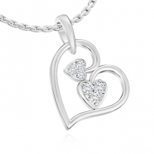 A special heart pendant for women