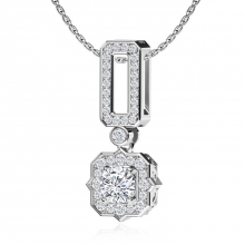 A special gold and diamond pendant