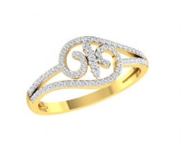 Vintage diamond ring for woman