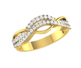 A diamond ring for a woman