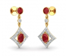 Earrings - diamond and gemstone earrings
