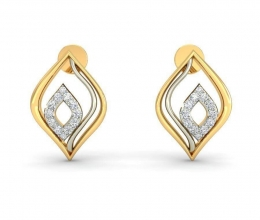 Earrings - Vintage diamond earrings for women