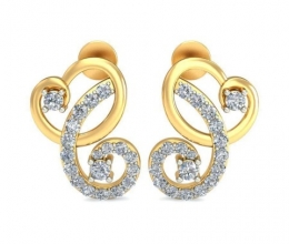 Vintage earrings designed for woman