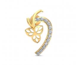 Personalized diamond earrings