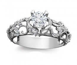 A vintage diamond ring for women