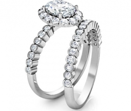 wedding diamond set