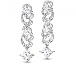 Special diamond earrings