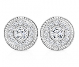 Diamond earrings designed for women