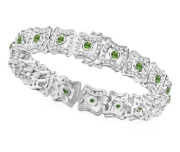 A special diamond bracelet with gems