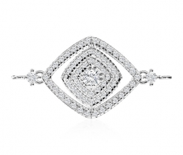 A diamond bracelet for a woman