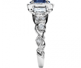 antique looking engagement rings