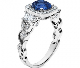 detailed engagement rings