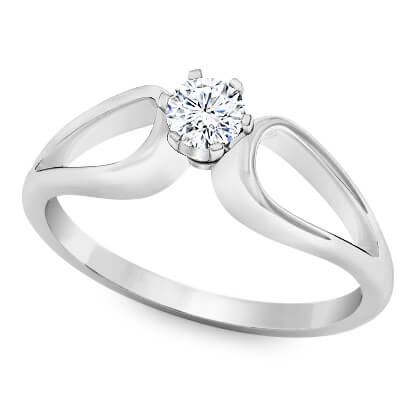 Delicate diamond ring