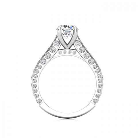 A special solitaire engagement ring