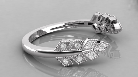 glowing diamond ring